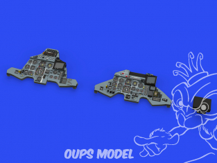 Eduard kit d'amelioration avion Löök 644097 Sukhoi Su-27UB Great Wall Hobby 1/48