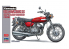 Hasegawa maquette moto 21731 Kawasaki 500-SS / MACH III (modèle tardif H1 '70) 1/12