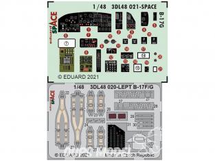 Eduard Space décalques 3D 3DL48021 B-17G Hk Models 1/48