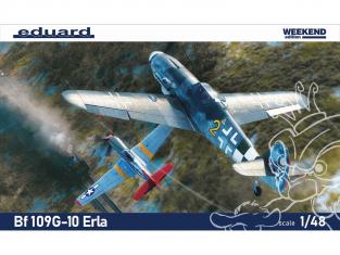 EDUARD maquette avion 84174 Messerschmitt Bf 109G-10 Erla WeekEnd Edition 1/48