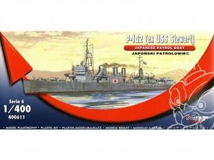 Mirage maquette Bateau 400611 patrouilleur n ° 102 ex USS Stewart 1/400
