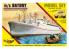 Mirage maquette bateaux 850091 Model Set M/S BATORY Navire transatlantique polonais 1/500