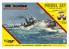 Mirage maquette bateaux 845091 Model Set A86 bateau lance-torpilles de défense côtière allemande type A / III / 56/1916 1/350