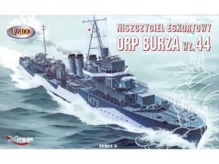 Mirage maquette Bateau 400606 ORP BURZA wz. 44 1/400