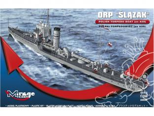 Mirage maquette bateau 350509 Torpilleur polonais ORP ŚLĄZAK (ex A59) 1/350