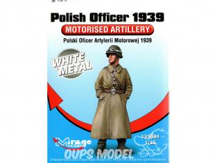 Mirage Kit Figuine 135001 Officier Polonais d' artillerie motorisée 1939 1/35