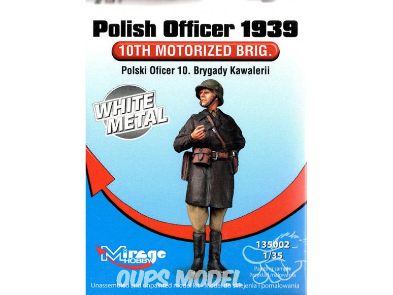 Mirage Kit Figuine 135002 Officier Polonais 10e brigade de cavalerie 1939 1/35