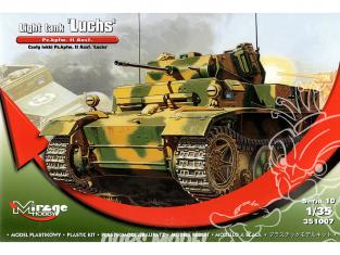 Mirage maquette militaire 351007 Char allemand Pz.Kpfw. II Ausf.L Luchs 1/35