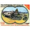 Mirage maquette militaire 35514 RENAULT UE Transporter Set avec chariot de ravitaillement 1/35
