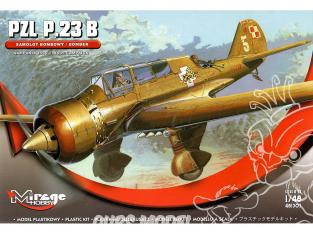 Mirage maquette avion 481305 Bombardiers PZL-23B 'KARAŚ' 1939 1/48
