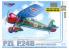 Mirage maquette avion 48104 PZL P.24B Export Fighter (vers bulgare) 1/48