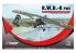 Mirage maquette avion 485002 Avion d'entraînement et de liaison R.W.D-8 (PWS)1/48