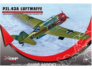 Mirage maquette avion 481311 PZL.43A Luftwaffe 1/48