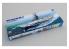 TRUMPETER maquette bateau 05618 USS Intrepid CV-11 1/350