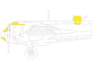Eduard Express Mask EX780 Blenheim Mk.I TFace Airfix 1/48