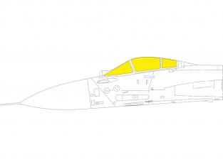 Eduard Express Mask EX782 Sukhoi Su-33 TFace Minibase 1/48