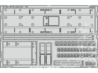 EDUARD photodecoupe avion 481049 Plancher cargo MV-22 Hobby Boss 1/48
