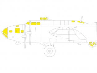 Eduard Express Mask EX777 B-17F Hk Models 1/48