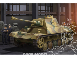 Hobby Boss maquette militaire 80150 Pz.Kpfw.III / IV Einheitsfahrgestell 1/35