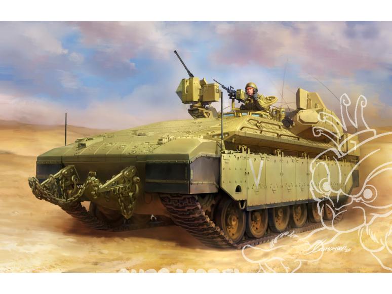 Meng maquette militaire SS-018 Le Namer lourdement blindé fait ses débuts 1/35
