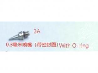 MENG MTS-002_3A Aérographe Yun Mo Buse 0,3mm