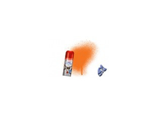 HUMBROL Peinture bombe 018 Orange Brillant acrylique