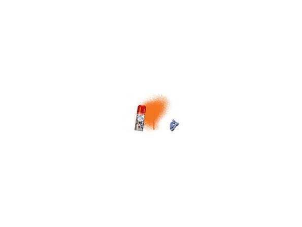 HUMBROL Peinture bombe 018 Orange Brillant acrylique