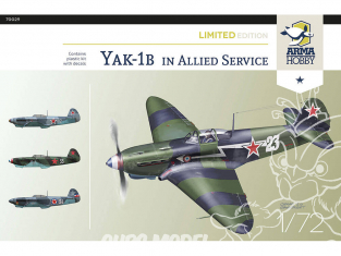 Arma Hobby maquette avion 70029 Yak-1b Allied Fighter Limited Edition! 1/72
