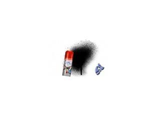 HUMBROL Peinture bombe 021 Noir Brillant acrylique