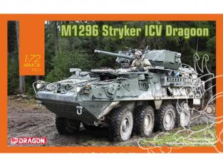 Dragon maquette militaire 7686 M1296 Stryker ICV Dragoon 1/72