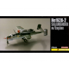 Dragon maquette avion 5576 he162 Salamander avec moteur 1/48