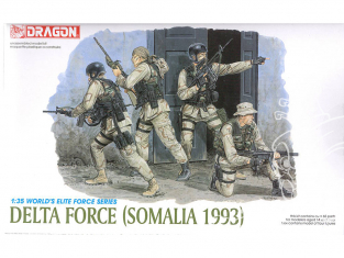 dragon maquette militaire 3022 Delta Force Somalie 1993 1/35