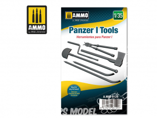 Ammo Mig accessoire 8129 Outils Panzer I 1/35