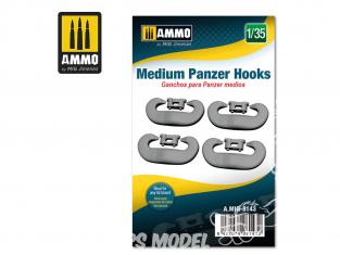 Ammo Mig accessoire 8143 Crochets pour Panzer moyen 1/35
