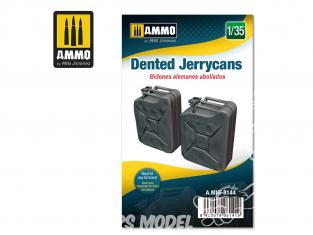 Ammo Mig accessoire 8144 Jerrycans bosselés 1/35