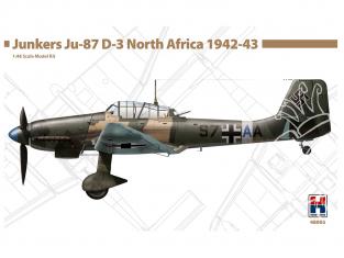Hobby 2000 maquette avion 48003 Junkers Ju-87 D-3 Afrique du Nord 1942-43 1/48