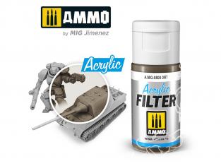 MIG filtre acrylique 800 Filtre saleté 15ml
