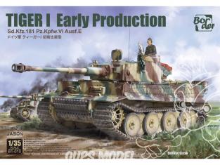 Border model maquette militaire BT-010 Tigre I Early production Juillet à Aout 1943 - Bataille de Koursk 1/35