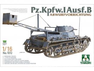 Takom maquette militaire 1012 Pz.Kpfw.I Ausf.B Abwurfvorrichtung 1/16
