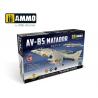 Ammo Mig maquette avion 8505 Harrier AV-8S Matador U.S. Marines AV-A / R.A.F. GR.1 / GR.3 Edition Limitée 1/48