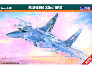 MASTER CRAFT maquette avion 040222 MIG-29 M 23 RD AFB 1/72
