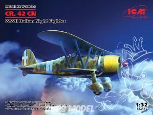 Icm maquette avion 32024 CR. 42CN WWII Italian Night Fighter 1/32