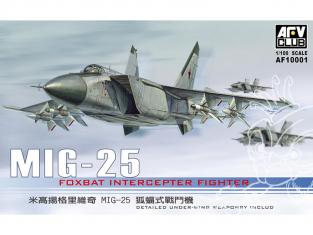 AFV maquette avion AF10001 Mikoyan-Gourevitch MiG-25 1/100