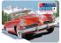 "AMT maquette voiture 1251 1953 Studebaker Starliner USPS ""Auto Art Stamp Series"" avec boite métal de collection 1/25"