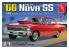 AMT maquette voiture 1198 1966 Chevy Nova SS (2 'n 1) 1/25