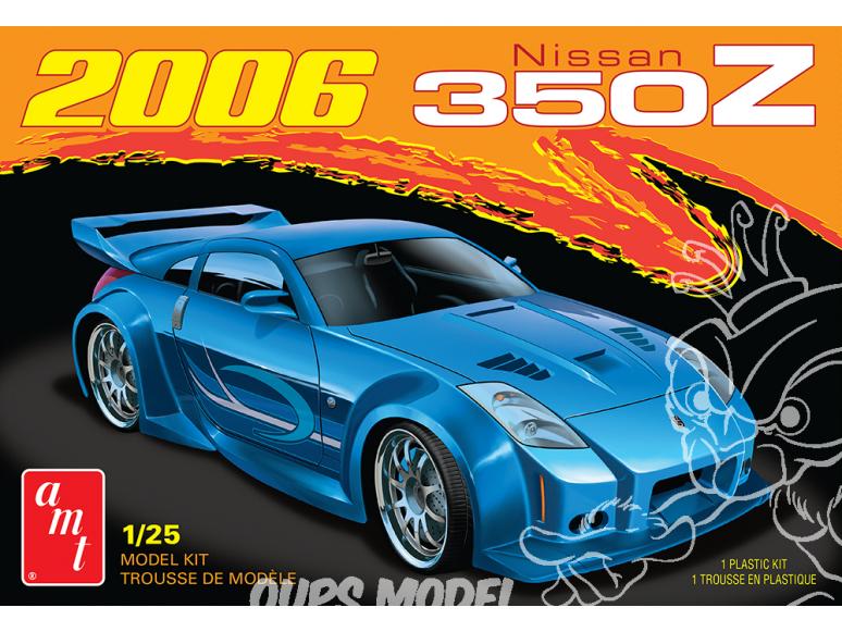 AMT maquette voiture 1220 2006 Nissan 350Z 1/25