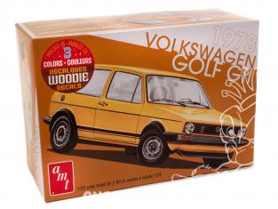 AMT maquette voiture 1213 1978 VW Golf GTI 1/25