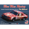 JR Models maquette voiture 1984NW Blue Max Racing Old Milwaukee 1984 Pontiac Grand Prix Winner 27 pilote by Tim Richmond 1/25