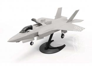 Airfix maquette avion J6040 QUICKBUILD (idem que lego) F-35B Lightning II