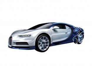 Airfix maquette voiture J6044 QUICKBUILD (idem que lego) Bugatti Chiron